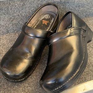 Dansko Professional Leather Clogs Sz 10